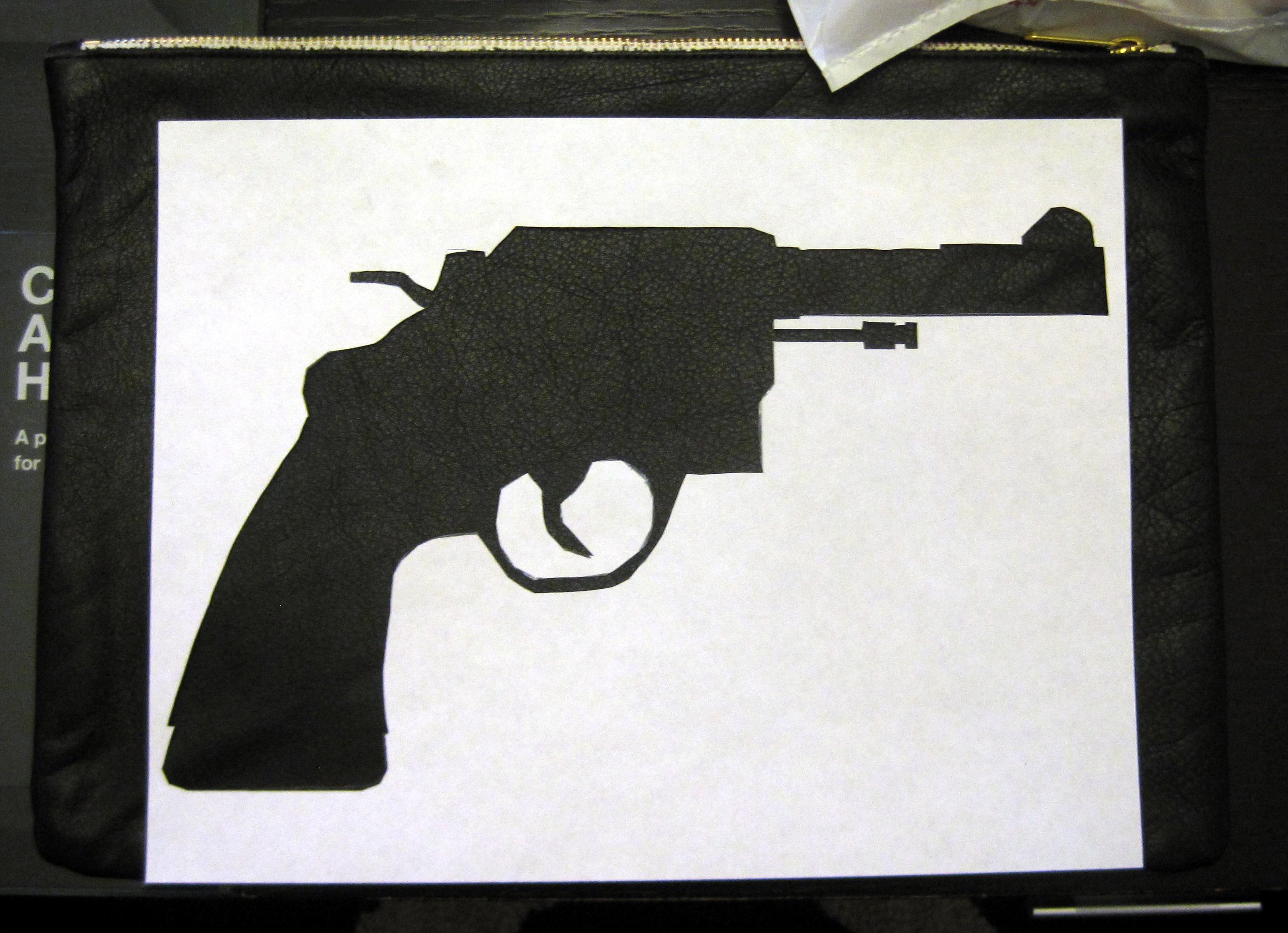 DIY Gun Stencil