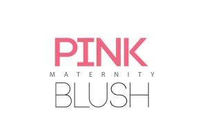pink blush maternity logo
