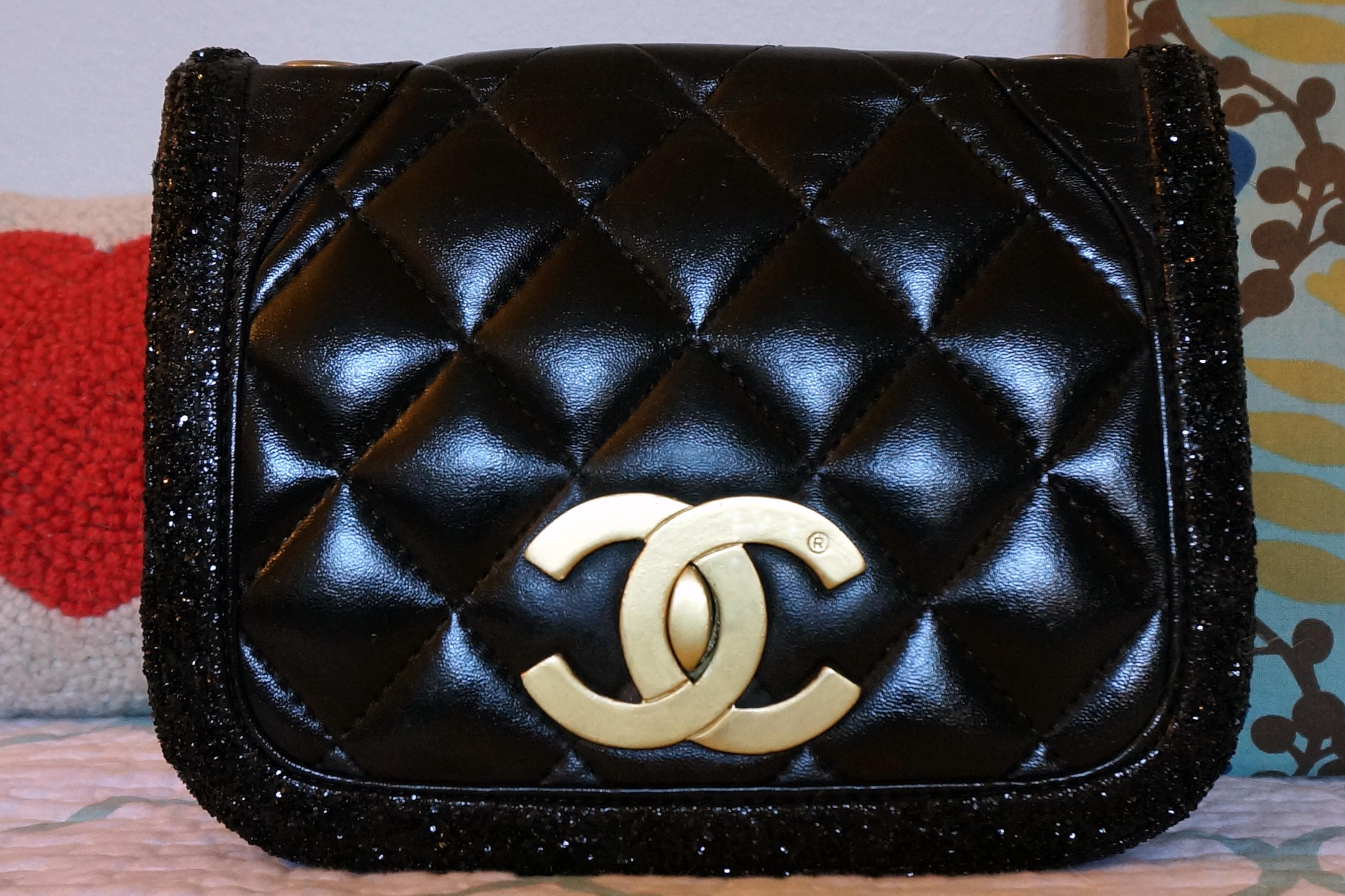 DIY Chanel Bag Refurb after