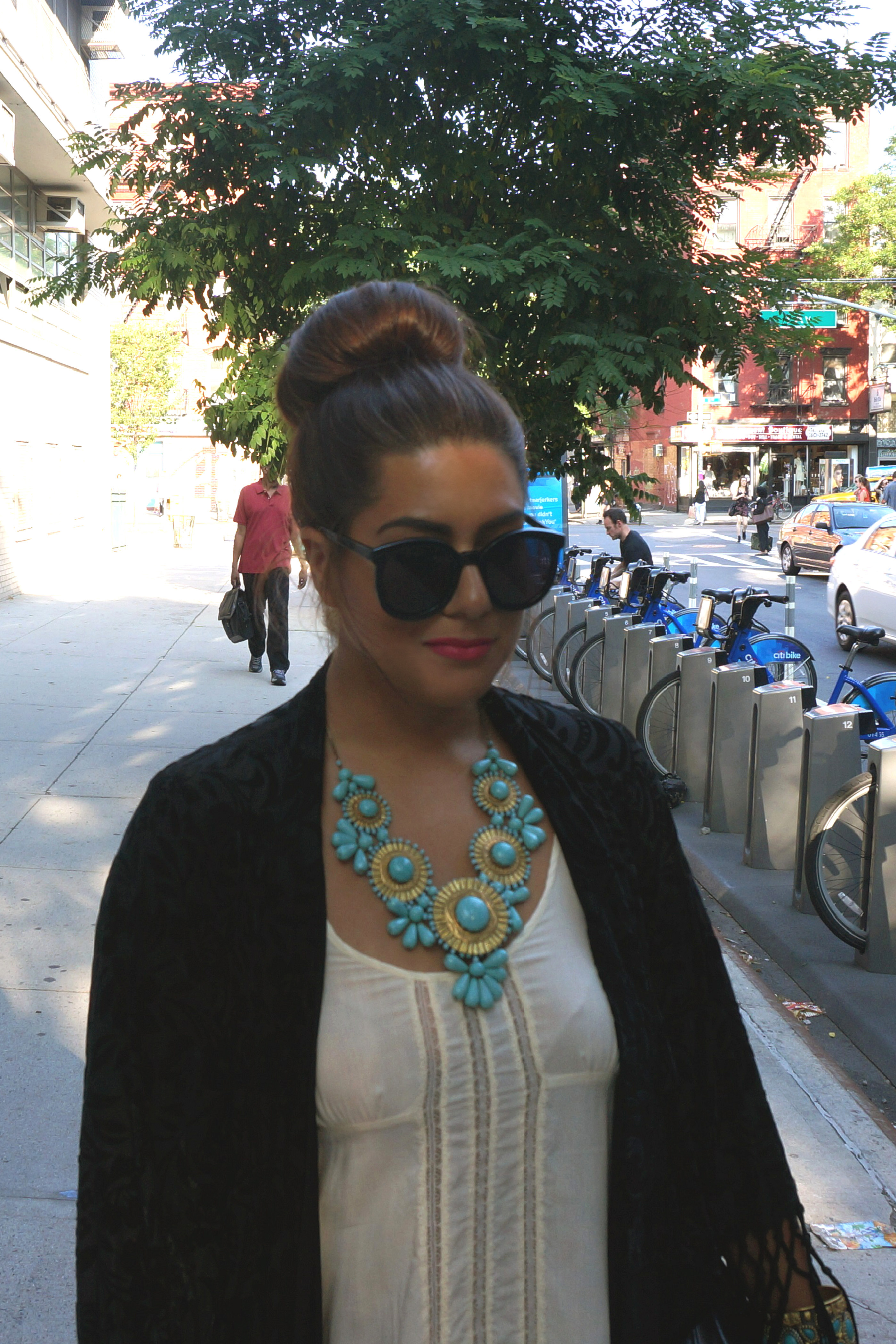 Slip Dress and Kimono Jacket – Glam York 6817a0e54