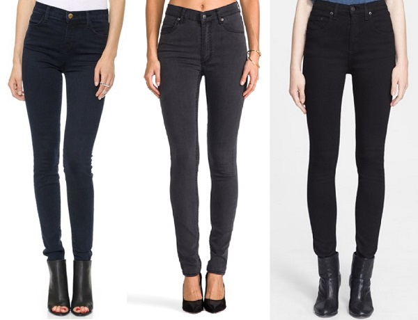 best high waisted skinny jeans - Jean Yu Beauty