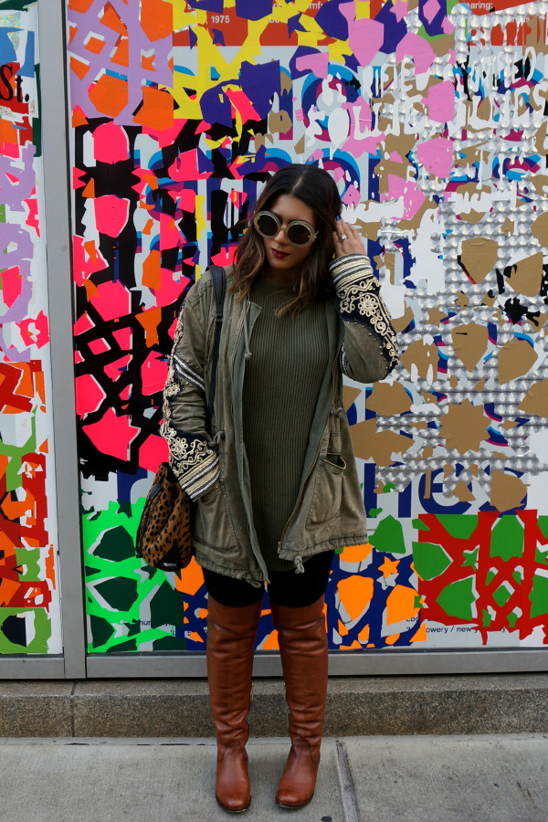 Free People Golden Quills Parka
