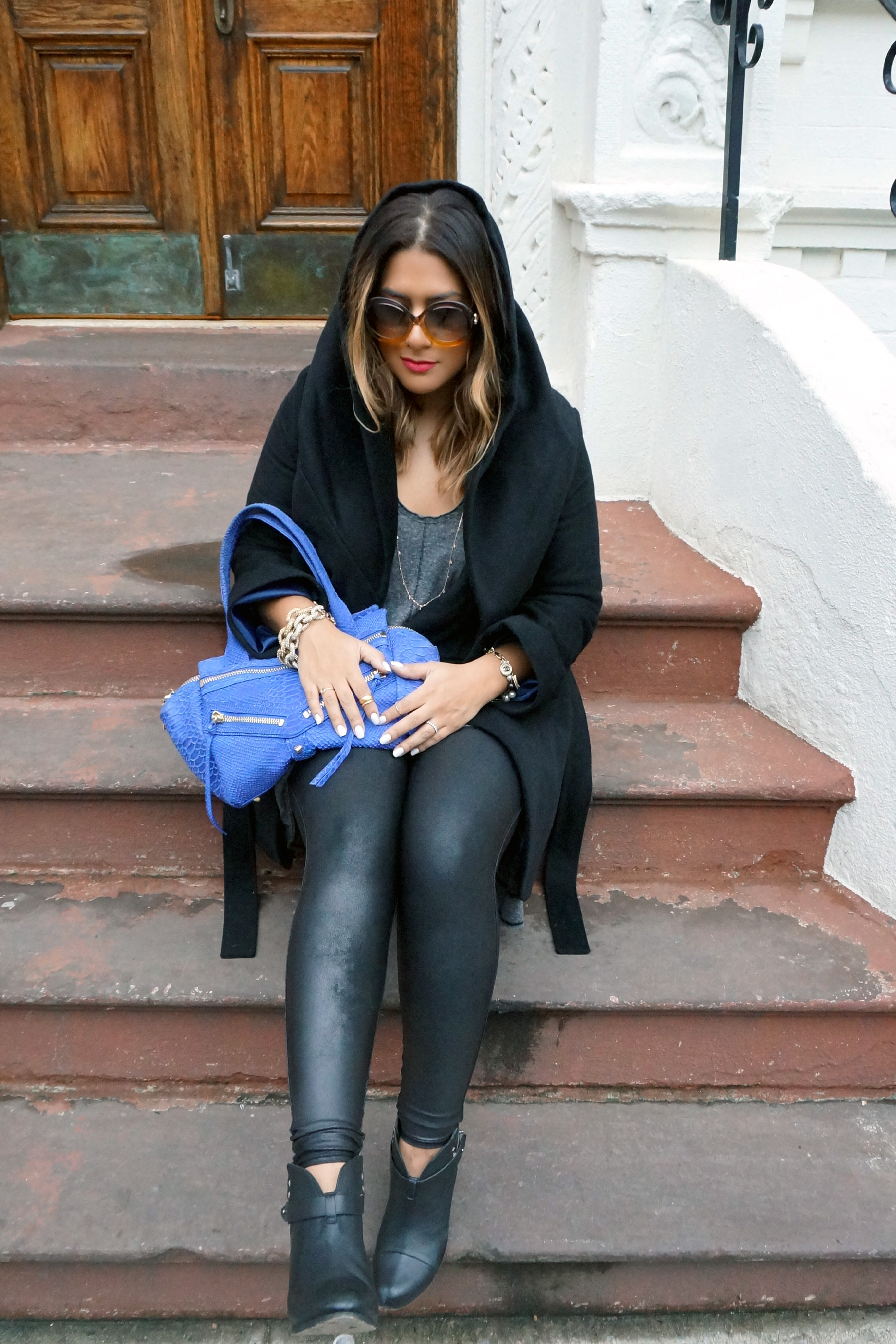 Spanx Look At Me Faux Leather Leggings Glam York