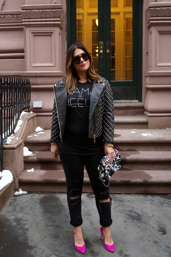 Oh Baby Chic Mama in Heels Tee