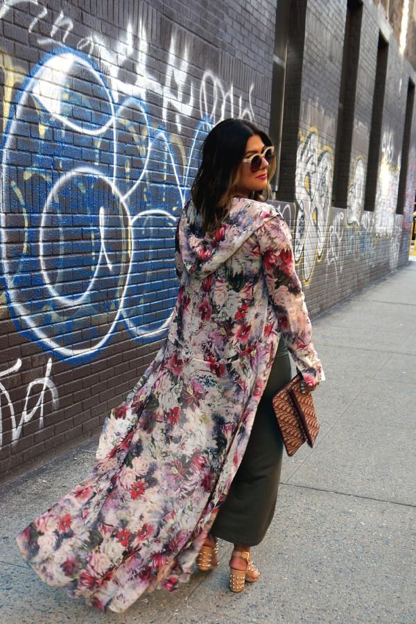 Haute Hippie Hooded Cloak