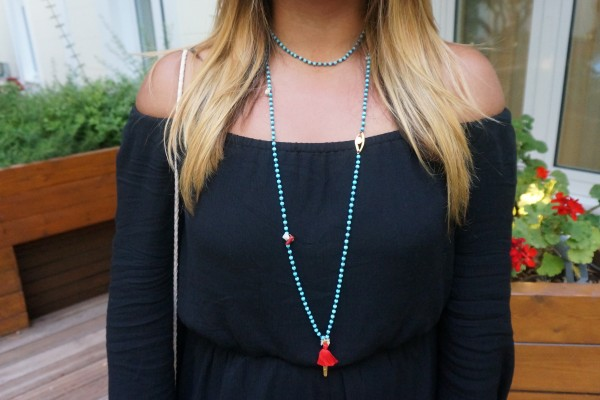Mary Gaitani Tassel Necklace