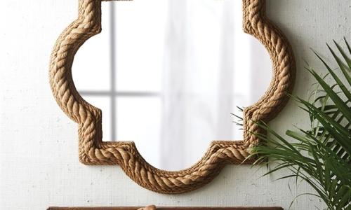 quatrefoil-rope-mirror