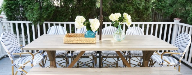 Safavieh Rural Woven Dining Hooper Blue White Indoor Outdoor Chairs