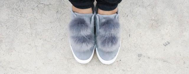 Sam Edelman Leya Faux Fur Sneaker