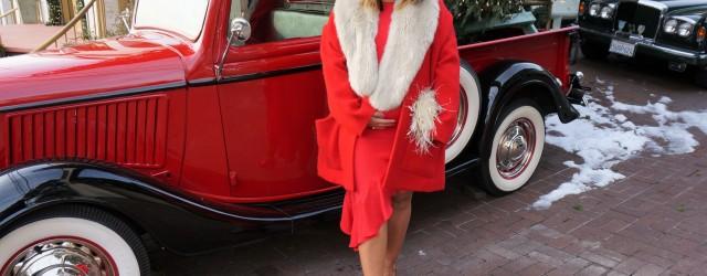 Alexis Hazel Dress Red
