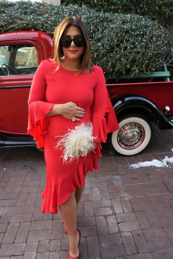 Alexis Red Hazel Dress
