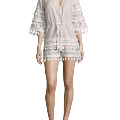 Dodo Bar Or Yefet Tassel Trim Romper