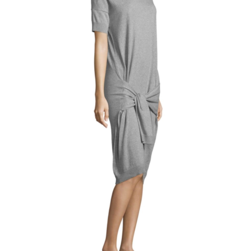 Vince Tie Sleeve Dress
