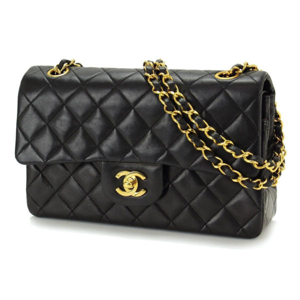 Vintage Chanel 2.55 Lambskin Double Flap Bag