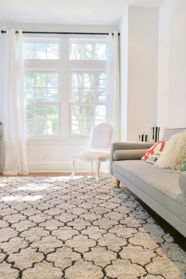 World Market White Linen Grommet Top Curtains