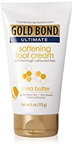Gold Bond Ultimate Softening Foot Cream With Shea Butter
