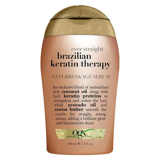 OGX Ever Straight Brazilian Keratin Therapy Anti Breakage Serum