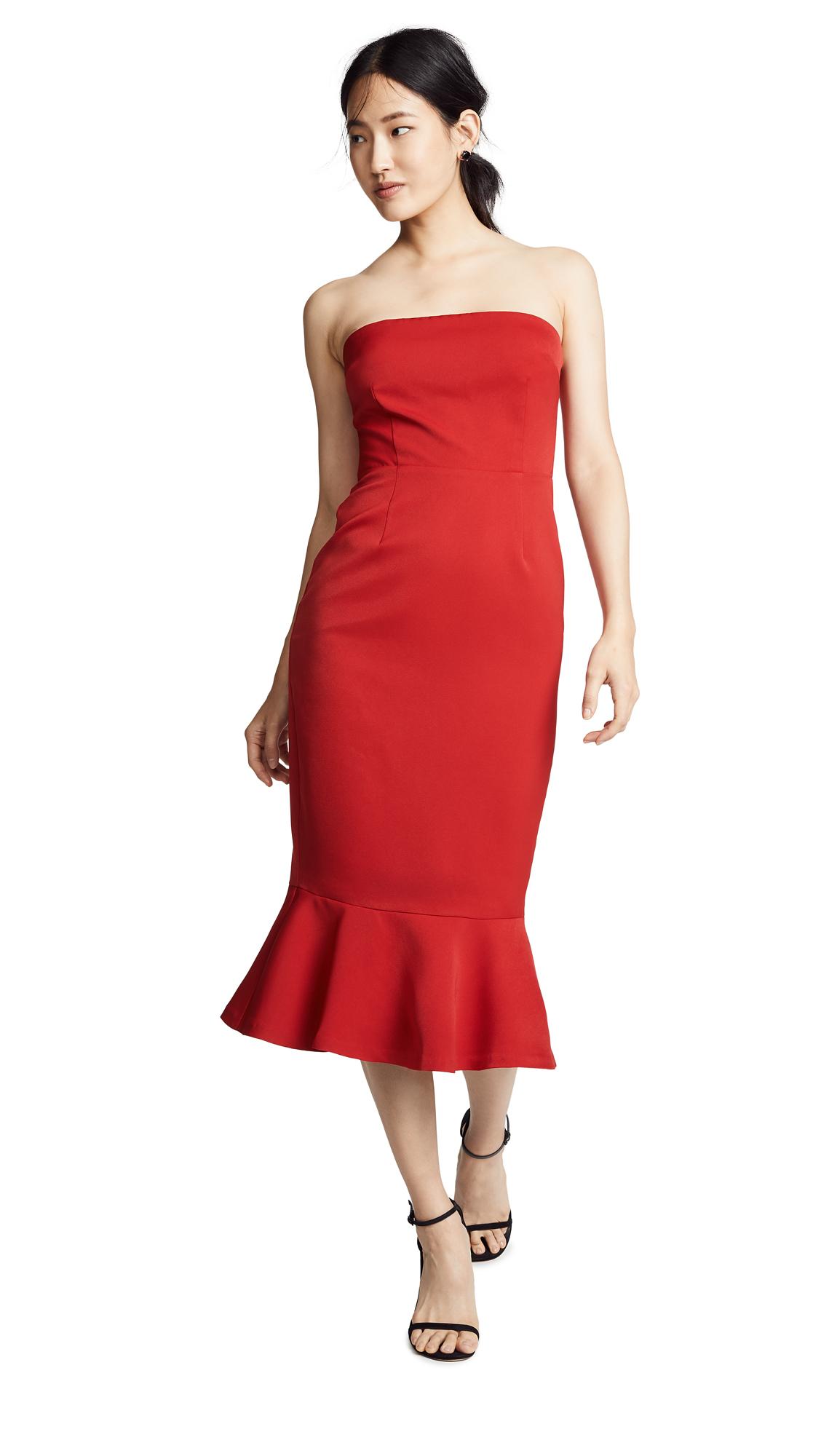 BB Dakota Light My Fire Strapless Dress